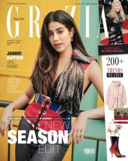 Janhvi Kapoor On The Cover Of Grazia