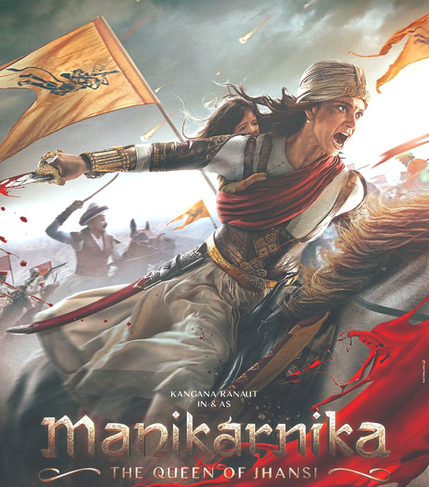 'Manikarnika: The Queen of Jhansi': Kangana looks impressive in the first poster