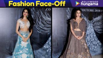 Janhvi Kapoor - Sara Ali Khan Fashion Face-Off