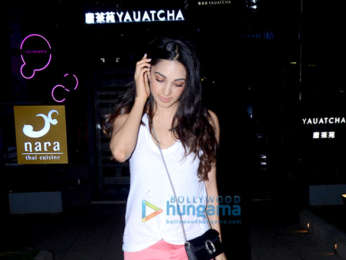 Kiara Adwani spotted at Nara Thai in BKC