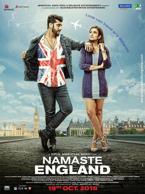 NAMASTE ENGLAND (2018) con ARJUN KAPOOR + Esperando Sub. Namaste-England