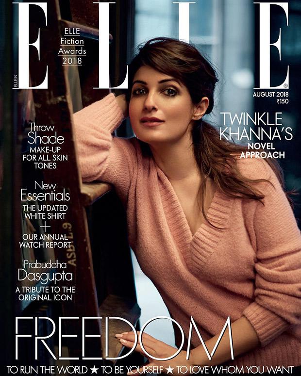 Twinkle Khanna for Elle