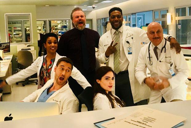 Anupam Kher makes waves as Dr Vijay Kapoor in his international series New Amsterdam!