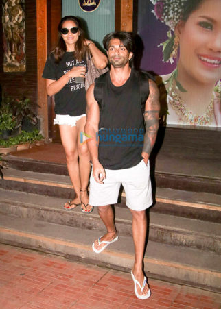 Bipasha Basu and Karan Singh Grover spotted outside a spa in Bandra