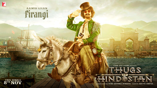 FIRST LOOK: Aamir Khan as quirky FIRANGI in Thugs Of Hindostan is totally unmissable