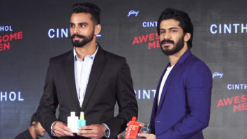Harshvardhan Kapoor at the launch of Cinthol's new grooming range for men