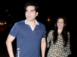 In Love: Arbaaz Khan and his girlfriend Giorgia Andriani are creating buzz with their romance!