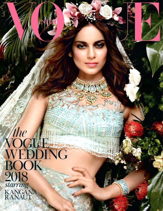 Kangana Ranaut Comes Alive As A Genteel Elegant Angel In A Mint Green Lehenga For