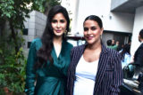Katrina Kaif and Neha Dhupia spotted before the shoot of No Filter Neha Season 3