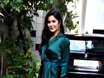 Katrina Kaif and Neha Dhupia spotted before the shoot of #NoFilterNeha Season 3