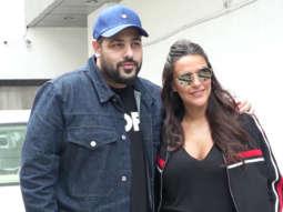 Neha Dhupia & Badshah SPOTTED shooting for #NoFilterNeha Season 3