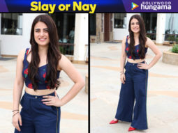 Slay or Nay - Radhika Madan in Nicobar separates for Pataakha promotions