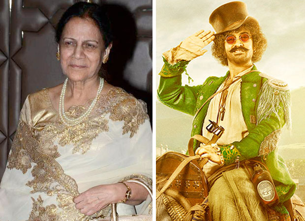 THUGS OF HINDOSTAN Here's how Aamir Khan's mother helped in sketching the Firangi look of Aamir Khan