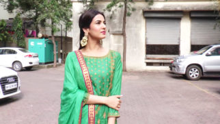 Sonal Chauhan visit Lalbaugcha Raja 2018