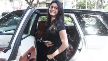 SPOTTED:Cutie Khushi Kapoor at KromaKay Salon Juhu