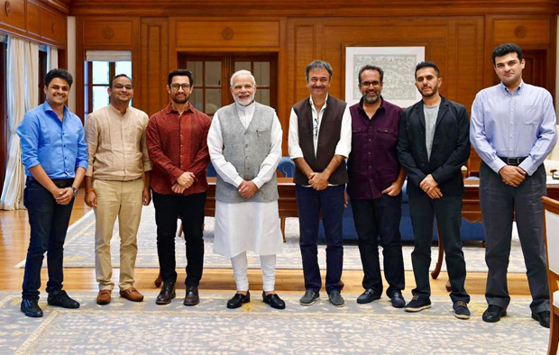 Aamir Khan, Rajkumar Hirani, Ritesh Sidhwani and others meet PM Narendra Modi and this was their request!
