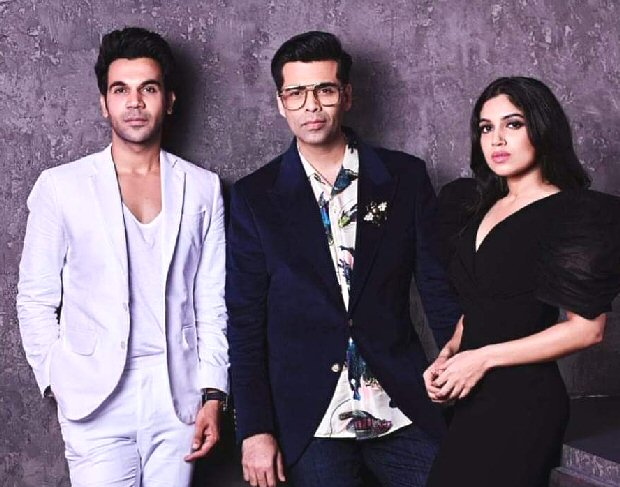 Breakout stars Rajkummar Rao and Bhumi Pednekar make their debut on Karan Johar's Koffee With Karan 6