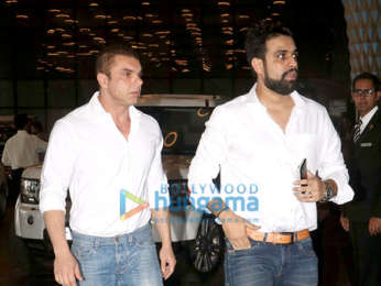 Celebs attend the prayer meet of late Krishna Raj Kapoor at Sahara Star hotel