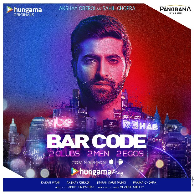 Character posters for Hungama Play's upcoming show 'Bar Code' revealed