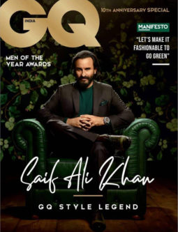 Saif Ali Khan On The Cover Of GQ, Oct 2018