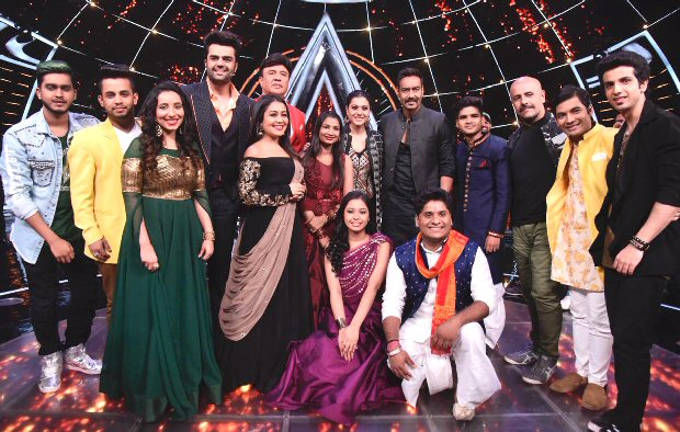 Kajol and Ajay Devgn had a gala time on the sets of Indian Idol and here are the details