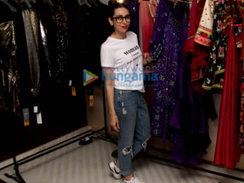 Karisma Kapoor snapped at Surily Goel's store
