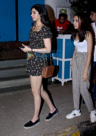 Khushi Kapoor spotted at Olive
