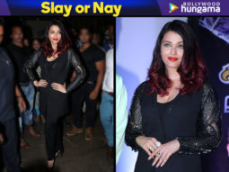 Slay or Nay - Aishwarya Rai Bachchan in Rohit Gandhi & Rahul Khanna pantsuit (Featured)