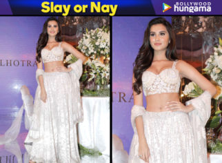 Slay or Nay - Tara Sutaria in Manish Malhotra for the Festive Junction Show (Featured)