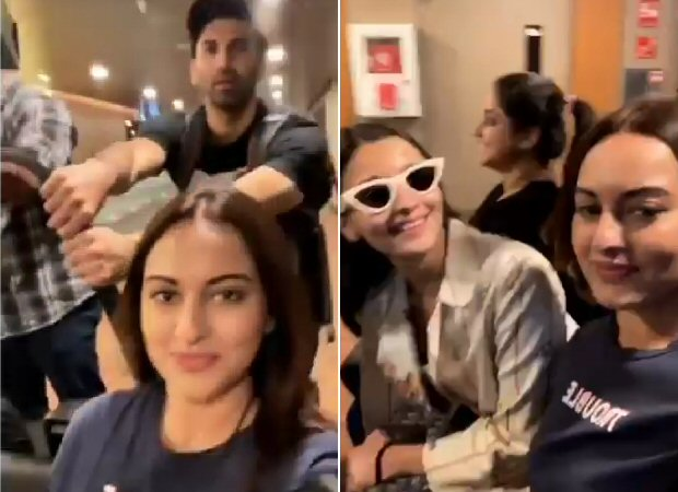 WATCH Kalank stars Alia Bhatt, Aditya Roy Kapur and Sonakshi Sinha make airport travelling more fun in this goofy video