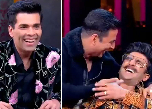 WATCH: Ranveer Singh and Akshay Kumar are crazy maniacs in this laugh riot Koffee With Karan 6 promo