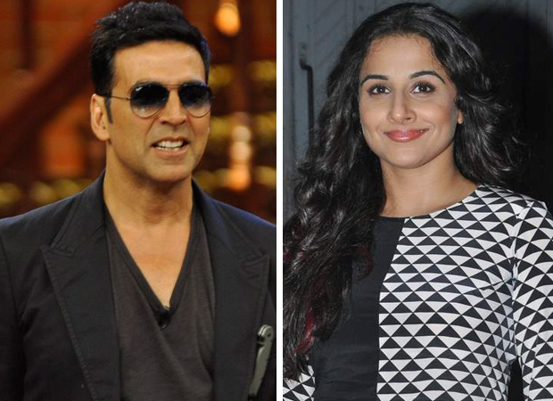 WOAH! Akshay Kumar and Vidya Balan to reunite for MANGALYAAN movie