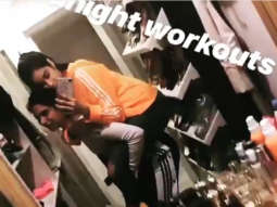 Watch Janhvi Kapoor PIGGYBACKS with Khushi Kapoor, gives a sneak peek into their midnight shenanigans