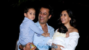 Abhishek Kapoor and Pragya Kapoor snapped during son's birthday celebration