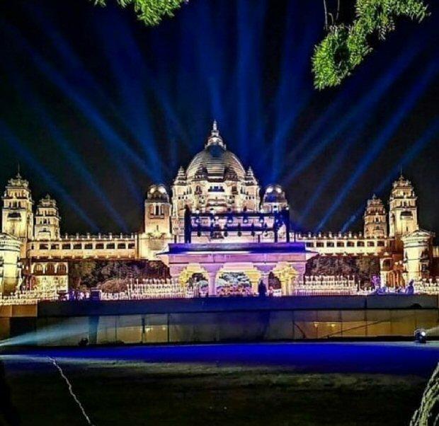INSIDE PICS OUT! Priyanka Chopra - Nick Jonas's wedding venue Umaid Bhavan is LIT UP and how