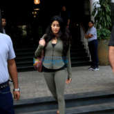 Janhvi Kapoor and Ishaan Khatter spotted at Soho House in Juhu