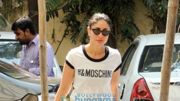Kareena Kapoor Khan and Malaika Arora snapped at the gym
