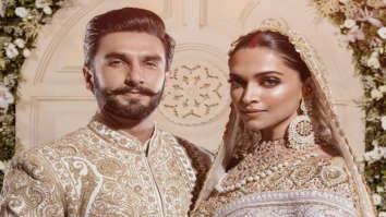 Ranveer Singh & Deepika Padukone look impressive beyond imagination at their 2nd wedding reception