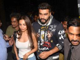 SPOTTED Malaika Arora and Arjun Kapoor together @ Yauatcha
