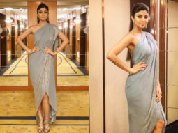 Shilpa Shetty in Rohit Gandhi + Rahul Khanna for an event in Hong Kong (Featured)