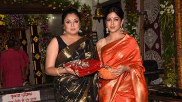 Tanushree Dutta & Ishita Dutta's Diwali Celebrations at Kali Mata Temple