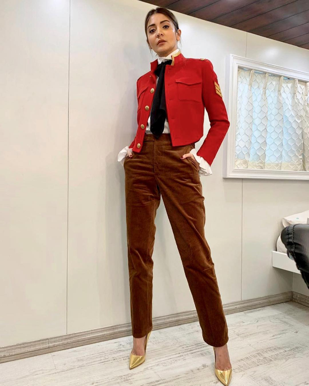 Anushka Sharma in Polo Ralph Lauren for Zero promotions (1)