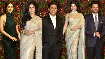 FULL Shah Rukh Khan, Katrina Kaif, Jacqueline Fernandez & others at Deepveer Wedding Reception