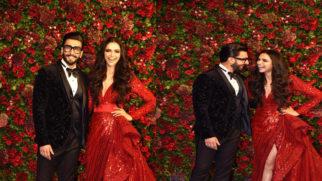 Ranveer and Deepika's ROYAL Wedding Reception at Mumbai