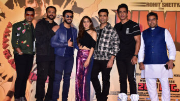 Simmba Official Trailer Launch Ranveer Singh, Sara Ali Khan, Sonu Sood Rohit Shetty Part 1