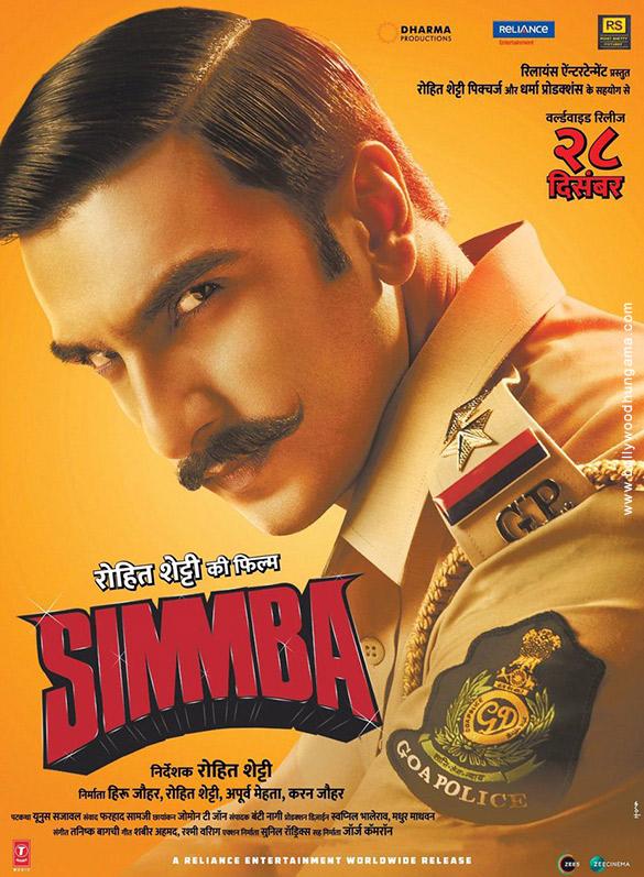SIMMBA (2018) con RANVEER SINGH + Jukebox + Sub. Español + Online Simmba2-1