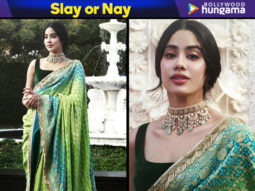 Slay or Nay - Janhvi Kapoor in Manish Malhotra (Featured)