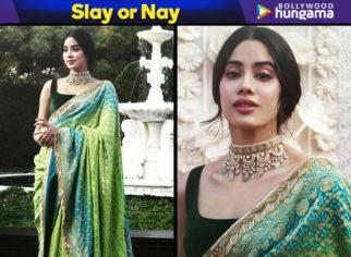 Slay or Nay - Janhvi Kapoor in Manish Malhotra (Featured)