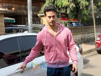 Tiger Shroff snapped in Bandra